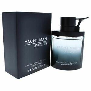 Yacht Man Aventus by Myrurgia for Men - 3.4 oz EDT Spray