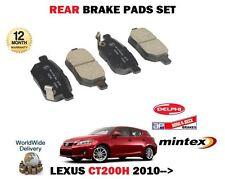 pour Lexus CT200h 1.8 hybride 2010- > NEUF ESSIEU ARRIÈRE KIT DE DISQUES FREIN
