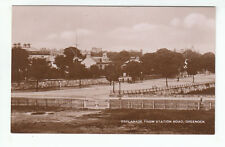 Esplanade From Station Road Greenock Renfrew A Campbell & Son Real Photograph