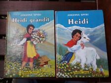 HEIDI et HEIDI GRANDIT 2 Livres Anciens Flammarion 1ère édition de 1958