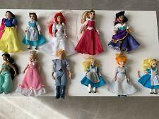 Lotto 11 bambole in ceramica Disney De Agostini Alice Esmeralda Biancaneve Belle