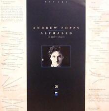 Andrew Poppy(Vinyl LP)Alphabed-ZTT-ZTTIQ 9-UK-Ex/NM