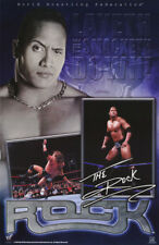 POSTER: WRESTLING: THE ROCK  - LAYETH THE SMACKETH DOWN - FREE SHIP #3470 RBW1 R
