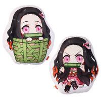 Anime Demon Slayer: Kimetsu no Yaiba Kamado Nezuko Pillow Plush Doll Stuffed Toy