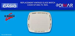 Ersatz Original Uhren Glas Casio G-Shock. GT-006-7V. NOS