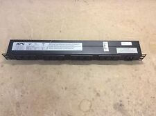 APC / Russelstoll Combo. 12 plug APC power strip, AP9565. Russelstoll 3720-RS.