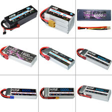 HRB 2S - 6S Lipo Battery 1300mAh - 6000mAh for RC Car Drone Boat Heli Plane AKKU