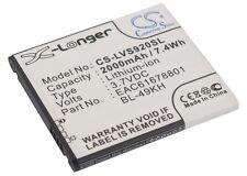 NEW Battery for LG LU6200 Nitro HD Optimus 4G LTE BL-49KH Li-ion UK Stock