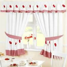 Floral Traditional Window Curtains