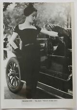 50s vintage CHRISTIAN DIOR press photo HAUTE COUTURE Model coat dress fashion