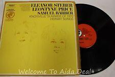 "Eleanor Steber Leontyne Samuel Barber Knoxville Summer LP (VG) 12"""