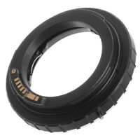 Minolta MD MC Lens to Canon EOS Camera Adapter Ring AF Confirm For 5DII 5DIII 6D