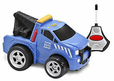 Remote Control Car Kid Galaxy Soft Squeezable Tow Truck Ages 2 Toy Scale 1 24