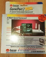 Suncom Technologies GamePort 2 Plus A speed Selectable Gamecard