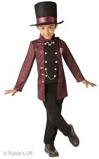 Official Willy Wonka Charlie and The Chocolate Factory Fancy Dress Children's