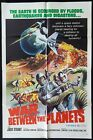 WAR BETWEEN THE PLANETS Original US One sheet Movie poster Sci Fi