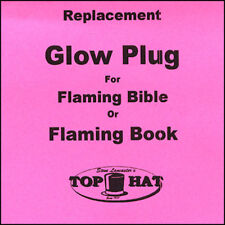 REPLACEMENT Glo Plug for Flaming Book/Bible from Murphy's Magic