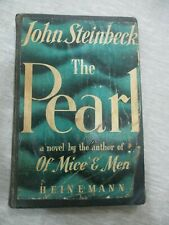 The Pearl by John Steinbeck,hard cover,97 pp,1st English edit.,U.K.,1948. cs2677