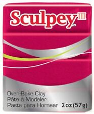 SCULPEY III - Polymer Clay - 57g - DEEP RED PEARL