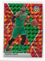 2019-20 Panini Mosaic basketball Orange Reactive prizm Marcus Smart #109
