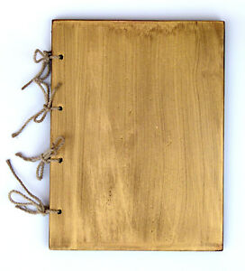 Cover WOODEN MENU HOLDER A4 SIZE Restaurant PUB HOTEL DISPLAY SIGN  GOLD FINISH