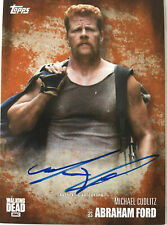 The WALKING DEAD - Michael Cudlitz as ABRAHAM FORD  RUST Autograph Card No.66/99
