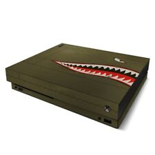 Xbox One X Console Skin - USAF Shark by US Air Force - Sticker Decal Wrap