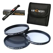 77MM FilterK&F Concept 77mm UV CPL ND4 Lens Filter Set UV Filter UV Protectiv...