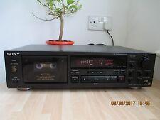 Sony TC-K677ES 3 Head Stereo Deck.