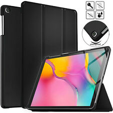 """SAMSUNG TAB A 10.1"""" SM-T510 (2019) MAGNETIC STAND SMART FLIP LEATHER CASE COVER"""