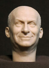 "CUSTOM  RESIN UNPAINTED HEAD SCULPT. Action figures, 1/6 scale. 12"". DD-42"