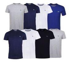 New Mens Lacoste Logo T Shirt - Short sleeve Crew neck--winter sale half price