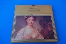 """PUCCINI Brani scelti da """"MANON LESCAUT"""" LP RCA SERIE LINEATRE GL 42558"""