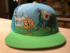 Adventure Time Finn Jake SnapBack Baseball Cap Hat Cartoon Network New