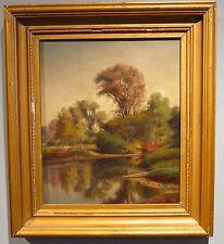 Sydney V. Gardiner c.1890's landscape painting British artist English