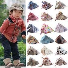 2x BAPE Kids Baby Feeding Bib Bandana Saliva Triangle Dribble,multiple patterns