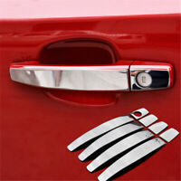 Door Handle Cover Sticker Steel Styling For Vauxhall Astra Mokka Corsa Zafira