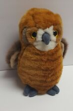 Small of the Wild 1993 Wildlife Artists Inc Brown and Gray 7 Inch Plush Owl