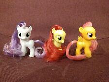 My little pony cutie mark crusaders lot applebloom sweetie belle scootaloo FIM