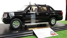 CADILLAC ESCALADE EXT noir 2002 1/18 ANSON 30391 voiture miniature de collection