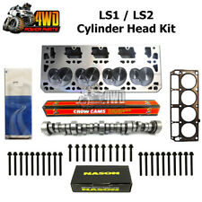 Performance Heads for Holden LS1/LS2, Crow Camshaft, Genuine Head Gasket & Bolts