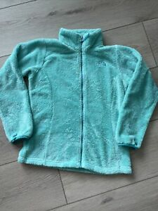 The North Face Girls Large (14-16) Fuzzy Full Zip Fleece Jacket Osito *