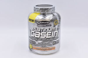 MuscleTech Platinum 100% Casein, Chocolate Peanut Butter Cup, 3.98lb, EXP: 11/21