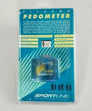 Fitness Pedometer 360 Sportline  New Old Stock Factory Sealed Hiking Walking NIP