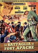 LA BATTAGLIA DI FORT APACHE  DVD WESTERN