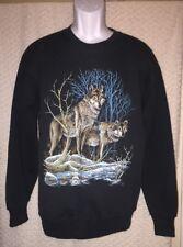1990 Vintage Wolves Wolfpack sweatshirt size adult M/L by Lee