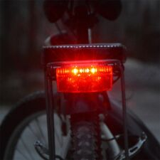 FOXEYE BIKE CYCLE DYNAMO REAR TAIL LIGHT LED FLASHING FOR LUGGAGE CARRIER RACK