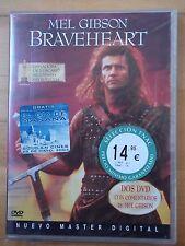 2 DVDs (Nuevo) Braveheart.Mel Gibson