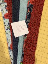 "Jelly Roll Strips 2.5"" X 44""  & 2.5"" X 22"" Riley Blake fabric"