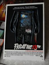 FRIDAY THE 13TH 3D Movie Poster Mcfarlane Jason Voorhees